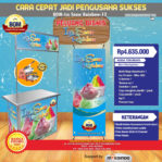 Paket Usaha Ice Snow Rainbow Program BOM