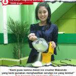 Jual Mesin Es Serut (Ice Crusher MKS-003) di Pekanbaru