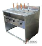 Jual Gas Pasta Cooker With Bain Marie (6 Baskets) MKS-PCBM6 di Pekanbaru
