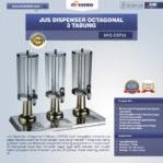 Jual Jus Dispenser Octagonal 3 Tabung  (DSP33) di Pekanbaru
