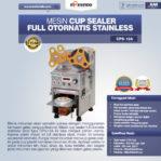 Jual Mesin Cup Sealer Full Otomatis Stainless (CPS-12A) di Pekanbaru