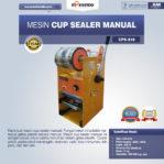 Jual Mesin Cup Sealer Manual (CPS-818) di Pekanbaru