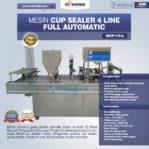 Jual Mesin Cup Sealer 4 Line di Pekanbaru