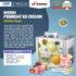 Jual Mesin Hard Ice Cream (Italia Compressor) – ISC-105 di Pekanbaru