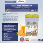 Jual Mesin Juice Dispenser 2 Tabung (17 Liter) – DSP17x2 di Pekanbaru