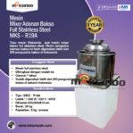 Jual Mesin Mixer Bakso di Pekanbaru