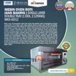 Jual Mesin Oven Gas 2 Loyang (MKS-GO12) di Pekanbaru