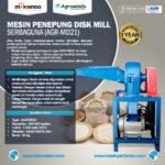 Jual Mesin Pembuat Tepung Disc Mill di Pekanbaru