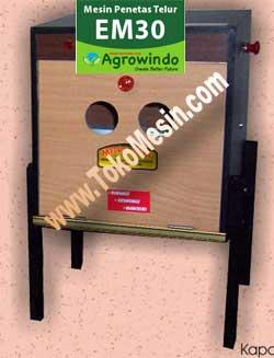 Jual Mesin Penetas Telur Manual 30 Butir (EM-30) di Pekanbaru