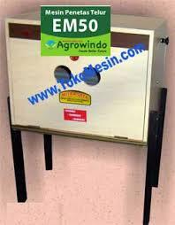 Jual Mesin Penetas Telur Manual 50 Butir (EM-50) di Pekanbaru