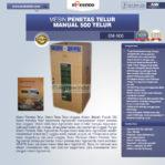Jual Mesin Penetas Telur Manual 500 Telur (EM-500) di Pekanbaru