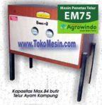 Jual Mesin Penetas Telur Manual 75 Butir (EM-75) di Pekanbaru