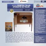 Jual Mesin Penetas Telur Otomatis 50 Telur (EM-50AT) di Pekanbaru
