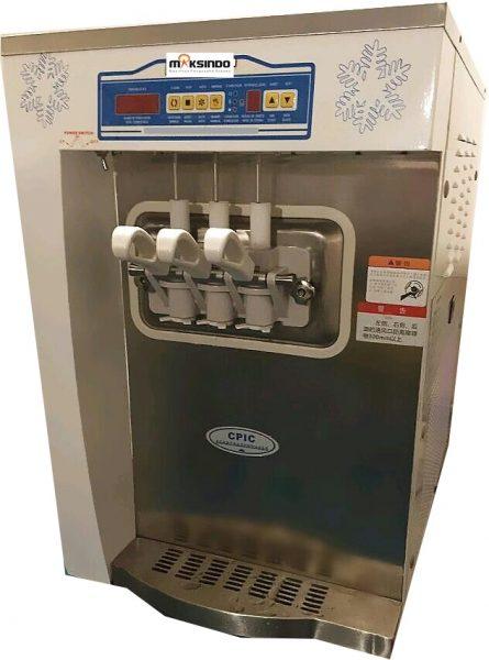 Jual Mesin Soft Ice Cream 3 Kran (Denmark Compressor) – ISC32 di Pekanbaru