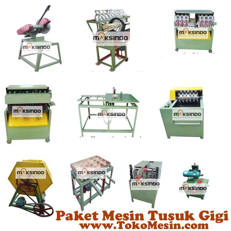 Jual Mesin Tusuk Gigi (paket komplit) di Pekanbaru