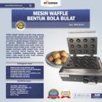 Jual Mesin Waffle Bentuk Bola Bulat (BLS12) di Pekanbaru