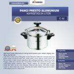 Jual Panci Presto Alumunium 7 -135 Liter di Pekanbaru