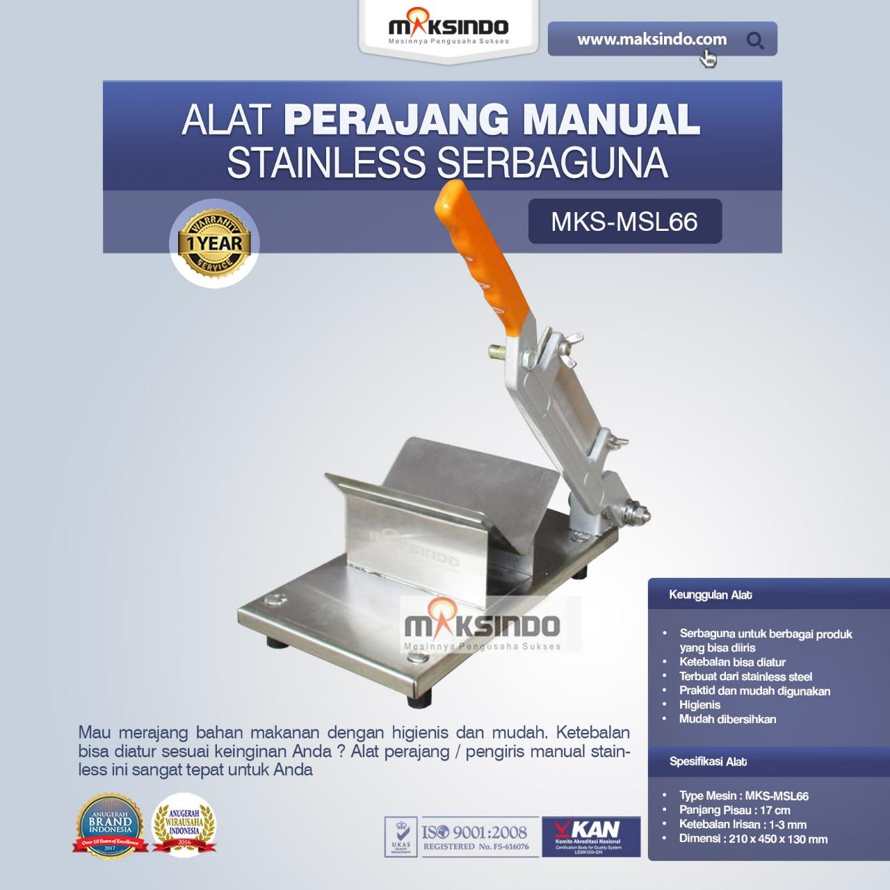 Jual Alat Perajang Manual Stainless Serbaguna di Pekanbaru