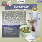 Jual Mesin Cetak Bakso MCB300B di Pekanbaru