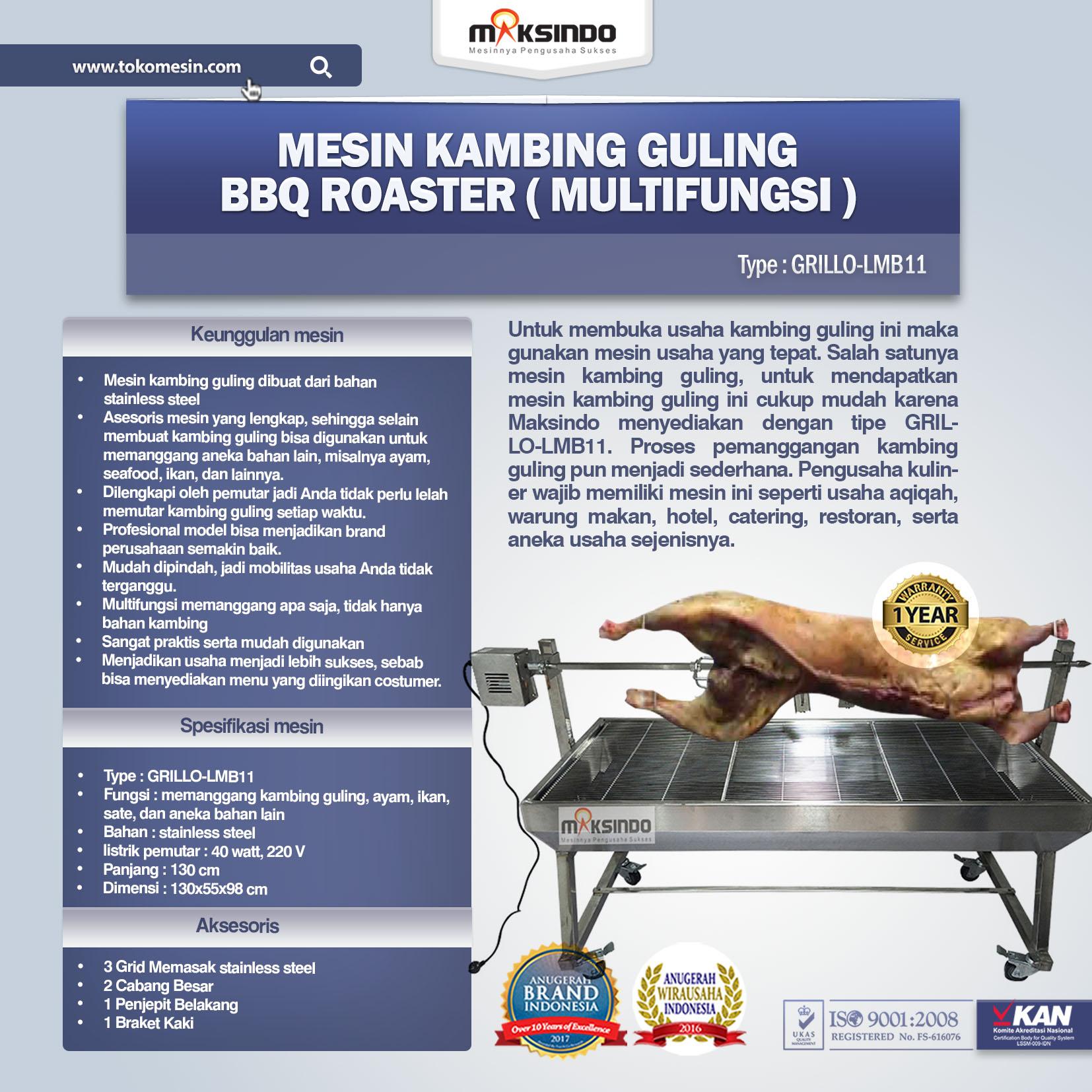 Jual BBQ Roaster (GRILLO-LMB11) di Pekanbaru