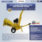Jual Mesin Perajang Ranting Dan Kayu Basah – KP15 di Pekanbaru