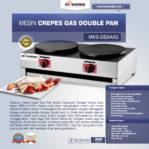 Jual Mesin Crepes Gas Double Pan (DE8Ax2) di Pekanbaru