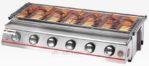 Jual Pemanggang BBQ Stainless (Gas) 6 Tungku Di Pekanbaru