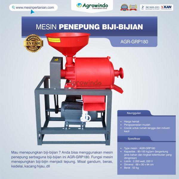 Jual Mesin Penepung Biji-Bijian GRP180 di Pekanbaru