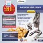 Jual Alat Cetak Long Potato MKS-LPCT50 di Pekanbaru