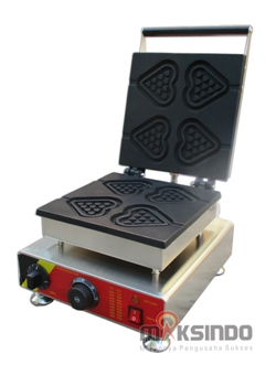 Jual Mesin Waffle Maker Bentuk Hati (Love) MKS-GNG4 di Pekanbaru