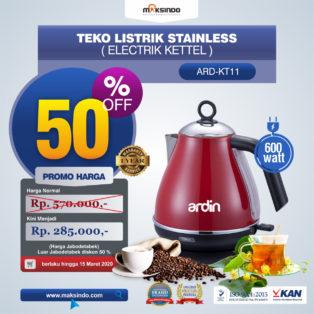 Jual Teko Listrik Stainless (Electrik Kettel) ARD-KT11 di Pekanbaru