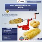 Jual Alat Pengiris Kentang Spiral (MKS-PSS44) di Pekanbaru