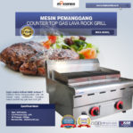 Jual Counter Top Gas Lava Rock Grill MKS-603GL di Pekanbaru