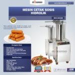 Jual Mesin Cetak Sosis Hidrolik MKS-HDS280 di Pekanbaru