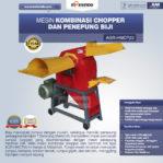 Jual Mesin Kombinasi Chopper dan Penepung Biji (HMCP20) di Pekanbaru