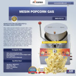 Jual Mesin Popcorn Gas (MKS-POP10) di Pekanbaru