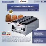 Jual Mesin Waffle Bentuk Bell (MKS-BELL5) di Pekanbaru