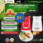 Jual Mesin Sosis Telur 2 Lubang ARDIN ARD-505 di Pekanbaru