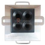 Jual Mesin Pembuat Egg Roll (Gas) 4 Lubang MKS-ERG444 di Pekanbaru
