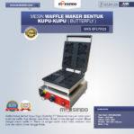 Jual Mesin Waffle Maker Bentuk Kupu-Kupu (Butterfly) MKS-BFLYW23 di Pekanbaru