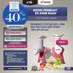 Jual Mesin Es Krim Buah Rumah Tangga di Pekanbaru