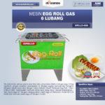 Jual Mesin Egg Roll Gas 6 Lubang GRILLO-GS6 di Pekanbaru