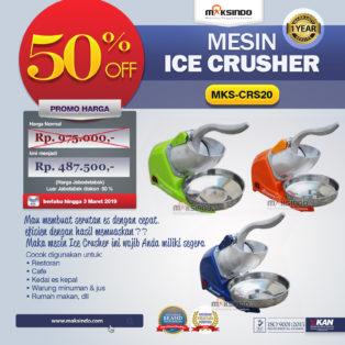 Jual Mesin Ice Crusher MKS-CRS20 di Pekanbaru