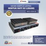 Jual Mesin Waffle Listrik Bentuk Hati 50 Lubang MKS-HSW50E Di Pekanbaru