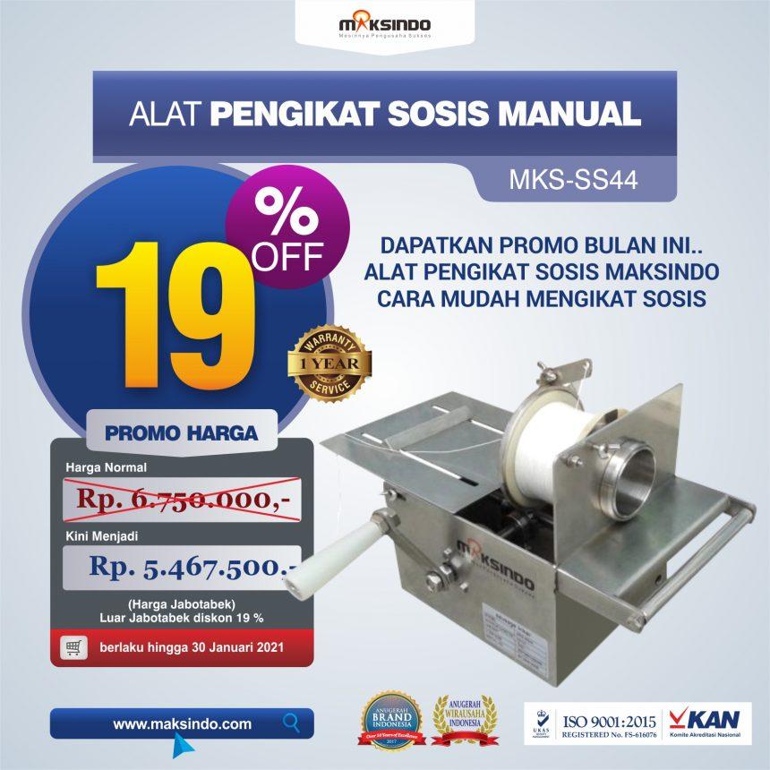 Jual Alat Pengikat Sosis Manual (MKS-SS44) di Pekanbaru