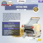 Jual Mesin Cetak Mie MKS-160 di Pekanbaru
