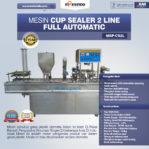 Jual Mesin Cup Sealer Otomatis 2 line MSP-CS2L di Pekanbaru