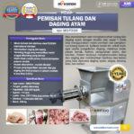 Jual Pemisah Tulang Dan Daging Ayam PTA-300 di Pekanbaru