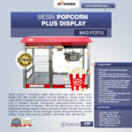 Jual Mesin Popcorn Plus Display (POP33) di Pekanbaru