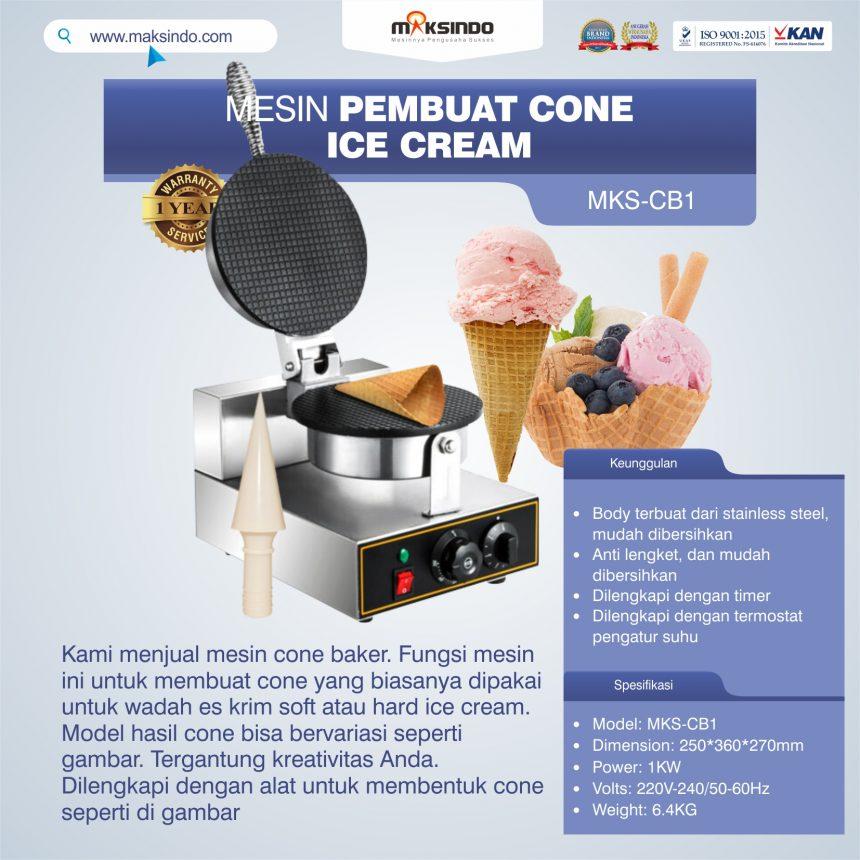 Jual Pembuat Cone Ice Cream mks-CB1 di Pekanbaru